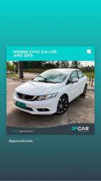 Honda civic sedan lxr 2.0 flex 2015 - jpcar - 2015