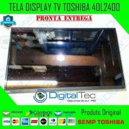 Tela Display Tv Semp Toshiba 40L2400 (leia) Testado (não Envio)