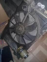 Conjunto radiador diversos veículos comprar usado  Rio de Janeiro