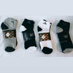 KIT com 3 pares de Meias Masculinas