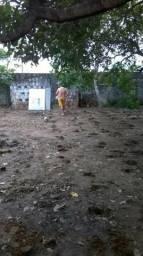 Terreno na pavuna, pacatuba, com área de 27x25, vendo todo ou parte