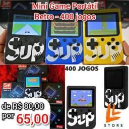 Mini Game com 400 jogos na memória