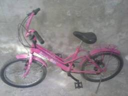 Bike feminina infantil aro 16