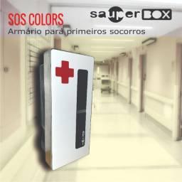 Armário Primeiros Socorros - Sos Colors 57x26x19 - M. 62 Gz
