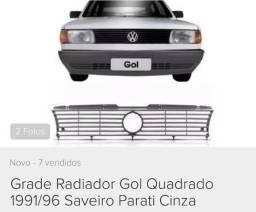 Grade Radiador VW Gol Saveiro Parati Voyage a partir 1991
