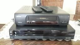 2 videocassetes Sharp