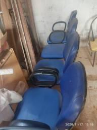 Cadeira De Espera Para Salão E Barbearia