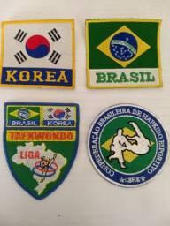 Emblema Diversos bordados para Taekwondo ou Hapkido