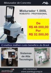 Promoção misturador de concreto modelo F-1000-5 MMA