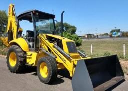 Retro Escavadeira New Holland Lb90 4x4