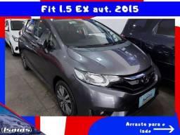 FIT 2015 1.5 EX  FLEX 4P AUTOMÁTICO