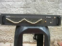 Equalizador staner 31 banda bem conservado