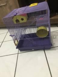 Gaiola de hamster 3 andares leia a descrição 120reais