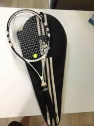 Vendo Raquete de Tênis Adidas barricade + capa
