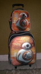 Conjunto Sestini de mochila + Lancheira térmica Star Wars