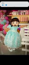 Vestido Luxo Festa Princesa