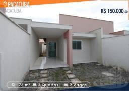 Casa Pronta na Pavuna - 2 Quartos
