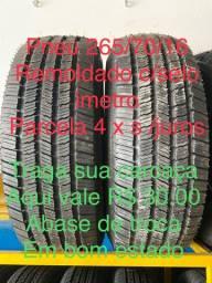 Pneu 265/70/16 R$ 450