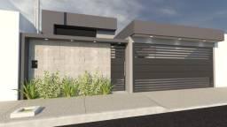 Casa nova em construção bairro São Geraldo