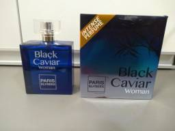 Perfume Eau de Toilette Black Caviar Woman, Paris Elysees, 100 ml