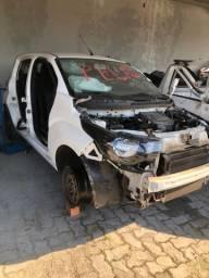 Sucata Fiat Mobi 2019 em peças