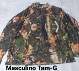 Camisa Masculina King com proteção UV