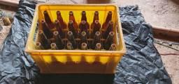 Engradado com 24 garrafas 600 ml