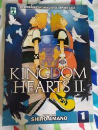 Mangá kingdom hearts volume 1