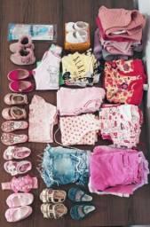 Vendo lote roupas e sapatos menina