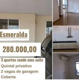 Condomínio Esmeralda - 3 quartos, garagem coberta