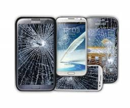 Troca de tela de celular e tablet