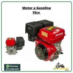 Motor Estacionario Gasolina MG-150E Com Partida Elétrica - Direto de Fábrica