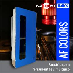 Armário Para Ferramentas Af Colors 57x26x19 - Moldura 62 Gz
