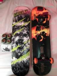 Skate Profissional montado + Shape e peças... *Preço Negociável*