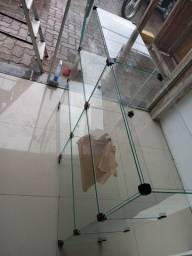 Balcão de vidro  até 3x sem juros #entrega grátis para região metropolitana