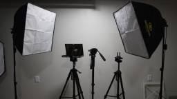 Vendo Studio de Filmagem e Fotografia Completo