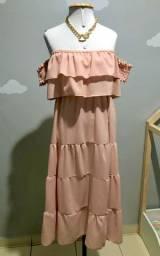 Vestido Midi Tam U (Veste do 36 ao 44)