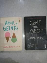 """""""Quem é você Alasca?"""" e """"Amor e Gelato"""""""