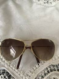 Óculos de sol Ray Ban original dourado 190,