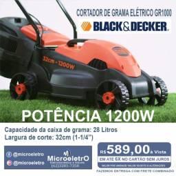 Título do anúncio: Cortador de Grama Elétrico GR1000 1200W