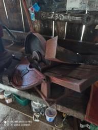 Máquinas para oficina esquatrilia de ferro trifásico compretos