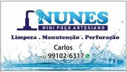 Título do anúncio: Limpeza de mini poço artesiano, perfuração e manutenção,a partir de 350$