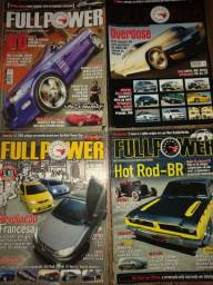 Título do anúncio: Revistas de carros antigos custom e tuning