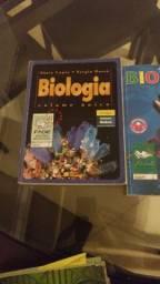Livros de biologia ensino médio/cursinho/pré-vestibular