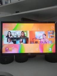 Título do anúncio: TV.   24 led TV ...tv digital integrada AOC