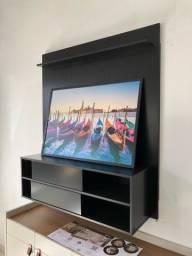 Título do anúncio: Painel tv até 50 polegadas preto