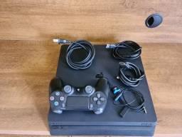 Playstation 4 Slim 1TB, aceito cartão!