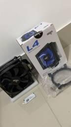 Cooler Cpu Aigo L4 Led Azul 120mm