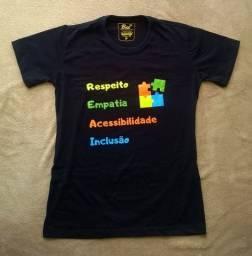 Camiseta Respeito, Empatia, Acessibilidade e Inclusão