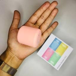Mini caixa de som portátil via Bluetooth TWS LittleFUN- Várias cores